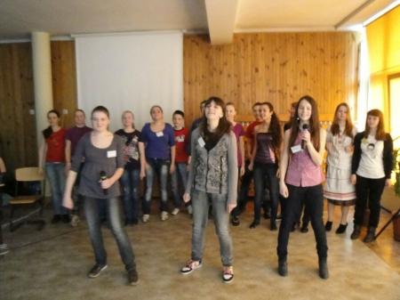 Spotkanie z młodzieżą z Białorusi (2011)