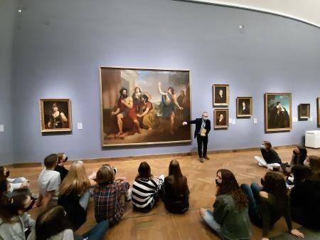 Lekcja muzealna w Muzeum Narodowym