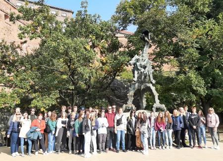 Wycieczka do Krakowa - klasy 3D i 3F